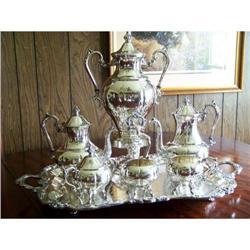 Sheridan 7-pc Tea & Coffee Service silverplate #2389645