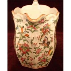 C.1840 CHINESE EXPORT ROSE CANTON PITCHER #2389655