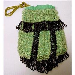 1920's FLAPPER Style Beaded Purse #2389677