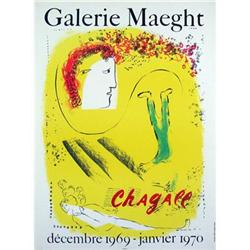 Chagall   The Yellow Background, 1969 #2389898