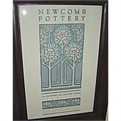 Newcomb Pottery Art Poster Framed #2389932