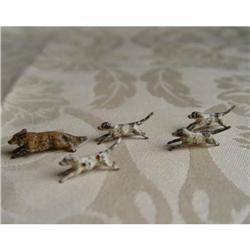 Miniature Lidice Cold Painted Bronzes Fox and #2389953