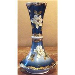 Hand Painted Antique Oriental Pottery Vase  #2389954