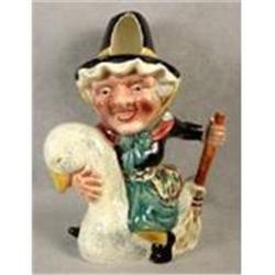 Shorter Toby Jug Mother Goose  #2389969