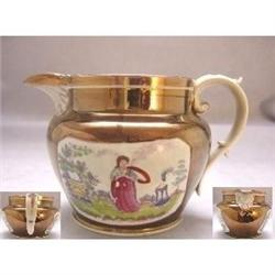 Staffordshire Pottery Medium Jug c1830 #2389970