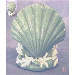 Minton Celedon Shell Vase (c1902) #2389982