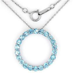 Fashionable Circle Necklace With 1.76ctw #2390340