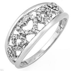 Charming Ring With Genuine Diamonds #2390342