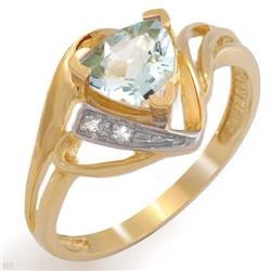Stylish Ring With 0.66ctw Precious Stones #2390343