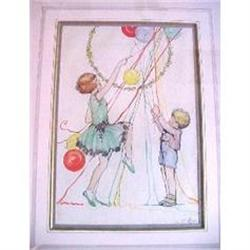 'Party Balloons' by Louisa M. Hine R.I. #2390352
