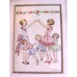 'Party Games' by Louisa M. Hine R.I. #2390353