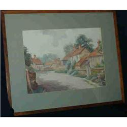 A Pair of English Watercolors by WRCaney #2390375