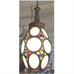 Multi Colored Jeweled Lantern #2390381