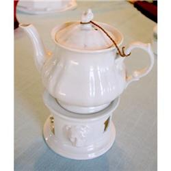 KPM Teapot  with Warmer & Fuel Cup  #2353663