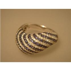 Ring  18ct  Saphire  &  Diamond   #2353672