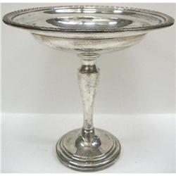 Antique Sterling Silver Candy Dish #2353681