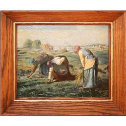 Women Working in Fields  by G.W. Varley - #2353693