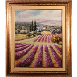 Landscape with Fuschia Flowers by Silvestri #2353695