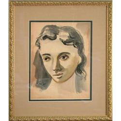 Portrait of Woman by Harold Cohn #2353696