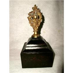 Bronze Finial Mounted Dome France 19th Century #2353703