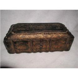 Chinoiserie Box with Lock 19th Century #2353705
