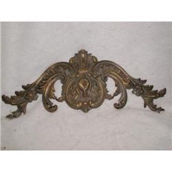 French Bronze Ornament Wall Hanging C.1920 #2353709