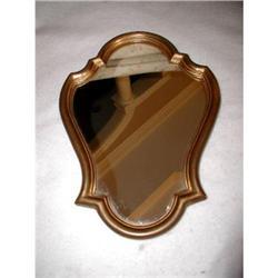 Petite French Mirror Gilt Wood C.1900 #2353719