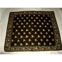 Italian Tapestry Throw Crewel Wool C.1875 #2353721