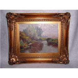 French Oil On Canvas Framed C.1900  Unsigned #2353725