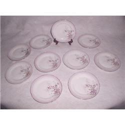 Bavarian Porcelain Plates C.1880-90 Hand #2353731