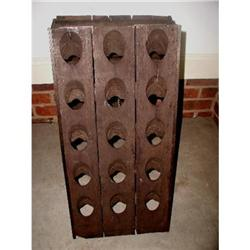 French Wine Champagne Riddling Rack 19th C. #2353733