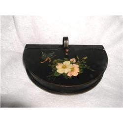Tole Silent Butler French Tin 19th C #2353737