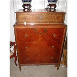 19th Century Chest Dresser Satinwood Myrtle #2353746