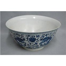 Large  chinese  blue  and  white  porcelain #2353844