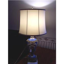 Victorian Porcelain Lamp #2353897