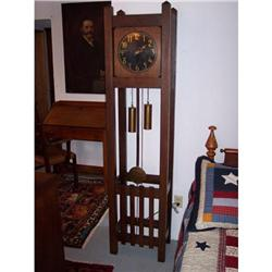 Mission Arts & Crafts Tall Case Clock #2353908