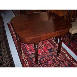 American Federal Sheraton Mahogany Dining Table#2353910