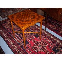 Federal Style Game Table #2353912