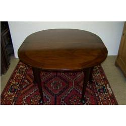 Queen Anne Demi-Lune Mahogany Dining/Serving #2353918