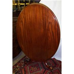 Victorian mahogany oval tilt-top breakfast #2353920