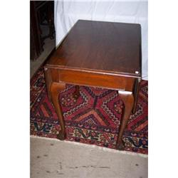 Oak Chippendale Style Drop-Leaf Claw-Foot #2353923