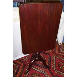 Mahogany Rectangular Tilt-Top Table #2353924