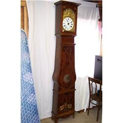 Early French Morbier Tall Case Clock Ca. 1790 #2353926