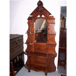 Victorian American Walnut What-Not Display #2353930