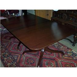 Federal Mahogany Dining Table #2353932