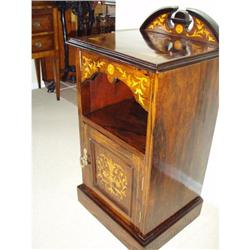 French Rose Wood Night Stand Display Cabinet #2353947