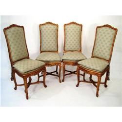 CH Set Of 4  20th Century LXV Style Chairs #2353996