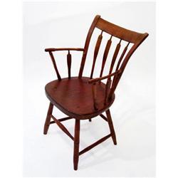 RS 19th Century American Arrowhead Arm Chair #2353998
