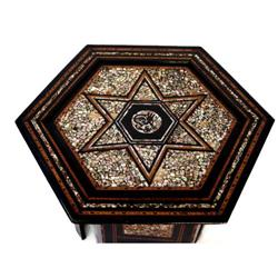 LM 19th Century Indian Table #2354001