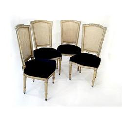 CH 19th Century  Set of 4 French Chairs  #2354003